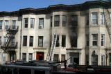 Brownstone Fire / 1816 Clinton Ave / Bronx / June 2007