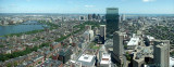 Prudential Tower Boston, view east