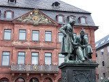 Rathaus and Brothers-Grimm Statue