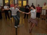 Kevin and Sarah Lindy Hop Workshop, June 2007