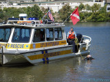 River rescue demonstration