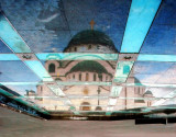 Reflection, St Sava Temple