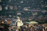 St Sava Temple and FC Partizan Stadium