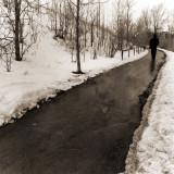 Winter Path, Ottawa, Canada