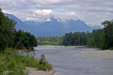 Skykomish River and Cascade Mountains