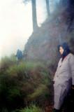 narrow steep path