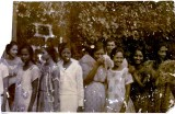 w/ a women's church group ca. 1920