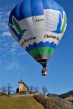 Festival de montgolfieres à Château d'Oex