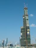 1232 15th December 06 Progress at Burj Dubai.JPG