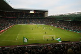 Players running out at Parkhead.JPG