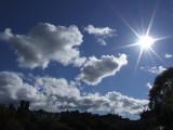 Sun over Edinburgh Castle.JPG