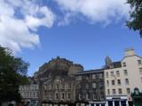 Grassmarket and Edinburgh Castle.JPG