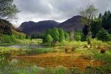 Aonach Dubh from Loch Torran, Glencoe