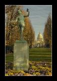 Le Pantheon depuis le Luxembourg - Paris