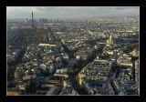 La tour Eiffel, les Invalides, l'Arc de triomphe ...