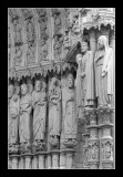 Gothic sculture (Chartres)