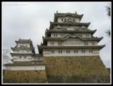 Upclose to Himeji Castle