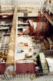 4es metró építési területe Kelenföldön - Underground line 4 building site at Kelenföld 02.jpg