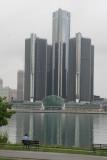 GM Headquarters (Renaissance Center) from Windsor