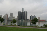 Detroit as seen from Windsor, Ontario