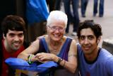 with my new friends from Venezuela, Luis & Illich