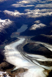 aerial view from flight to Puerto Montt
