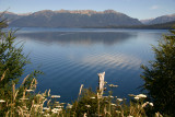 Bariloche lake district.