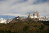 cerro torre and Fitzroy massif.