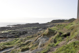 Fife Ness - Coastal Path looking west from FBC hide