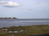 Edenside view from the FBC hide looking to Eden mouth