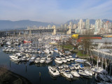 False Creek, Granville Island and the West End