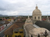 the west view from the bell-tower of Iglesia de La Merced