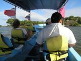 on a boat tour of Las Isletas.....