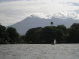 ...under the shadow of the ominous Volcan Mombacho