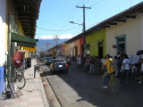 there's lots for sale on the shady side of Calle Altravesada