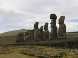 ...the platform with the longest lineup of stone images