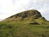 the quarry for many of the Moai...a volcanic crater..
