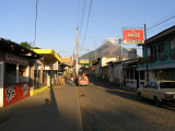 ...where Moyogalpa..at the base of Volcan Concepcion, could one day become another Pompeii