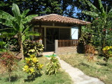 ...where the Hotel Charco Verde has great little cabins