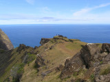 ...which is located on the rim of Rano Kau.....