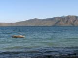 ...a large lake in an ancient caldera