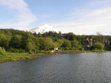 ...the town of Pucon, in the Lake District
