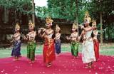 traditional dancers...near Siem Reap, Cambodia