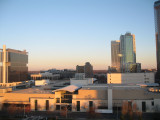 Charlotte Convention Center in Forground