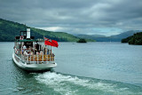 Steamer on Lake Windermere, Cumbria (1982)