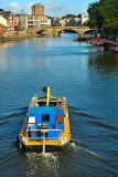A barge on the Ouse, York