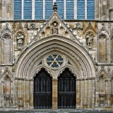 Main entrance, the Minster, York