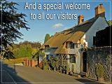 'And a special welcome' slide from the local landscapes series