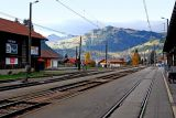 Gstaad station and view!