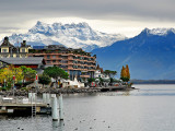 Last look at the mountains, Montreux (2412)